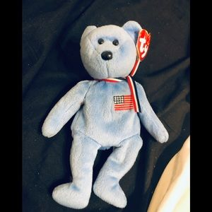 "Ty bear ""America"" in memory of 09/11 victims"